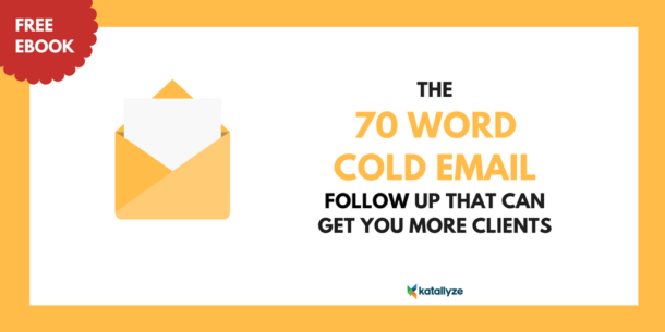 70 Word Cold Email