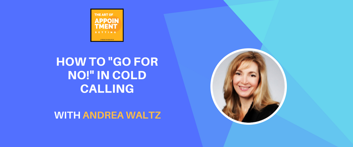 "#1 Bestselling Sales Author for 8+ Years on How to ""Go For No!"" in Cold Calling 